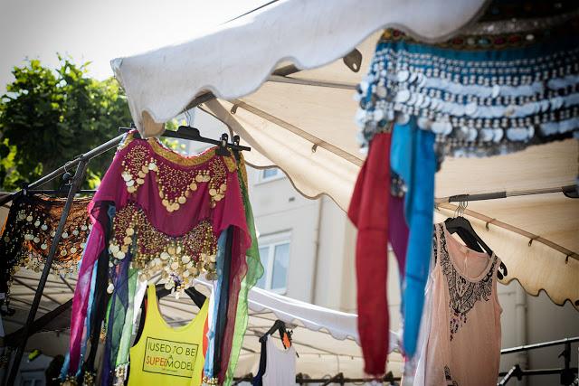 Wochenmarkt-Farebersviller-Frankreich