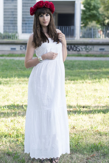 Modeblog-Deutschland-Deutsche-Mode-Mode-Influencer-Andrea-Funk-andysparkles-weißes Kleid