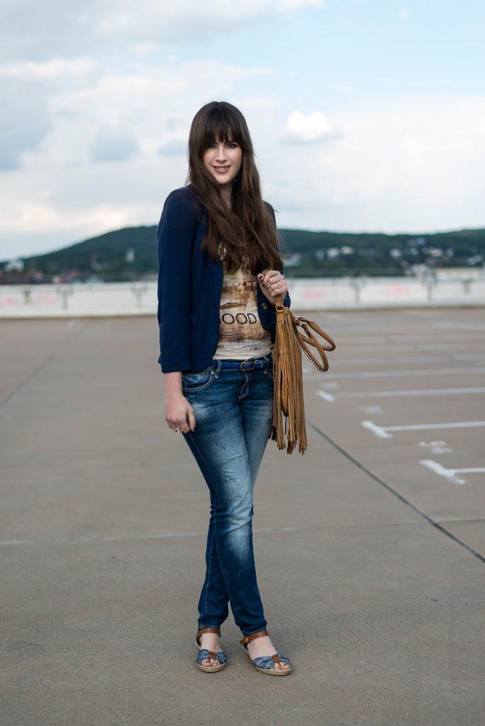 andysparkles outfit mavi jeans gebrüder götz sandalen rieker