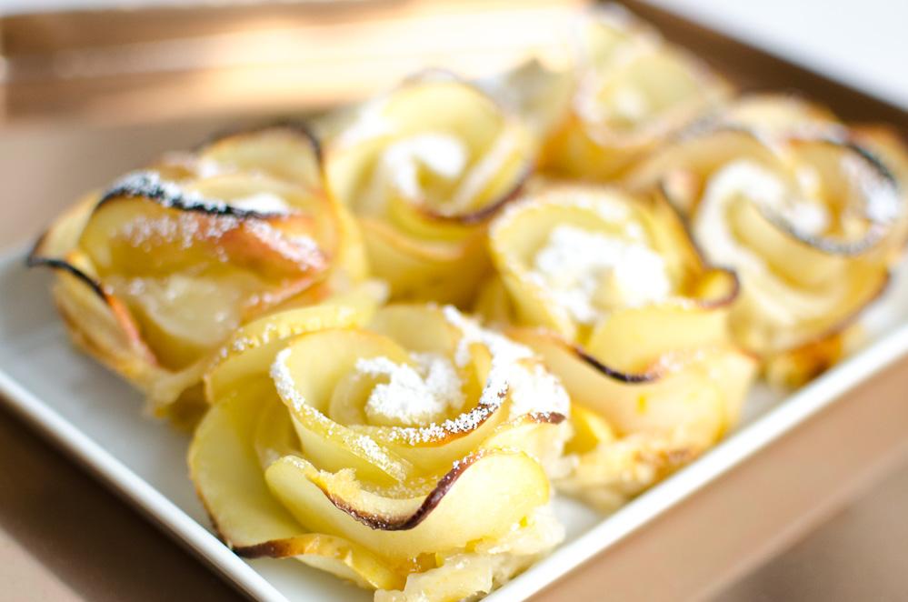 Rezept Apple Roses Mit Video Anleitung Andysparklesde