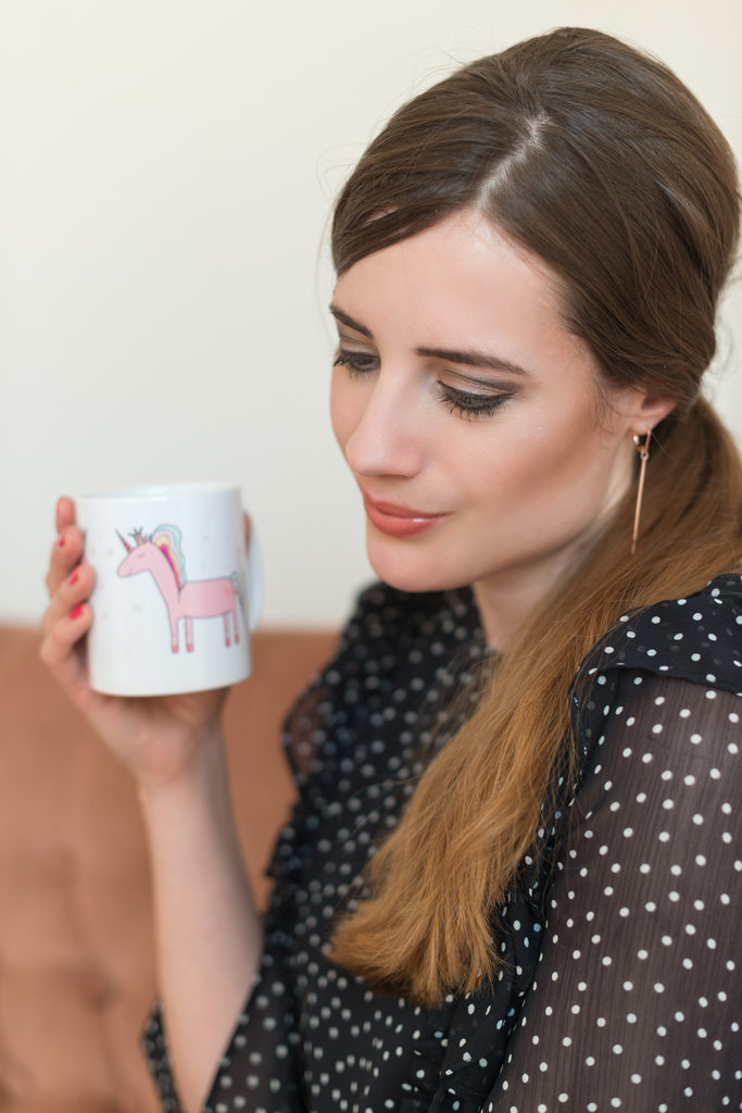 andysparkles Beautyblogger Influencer InStyle Box Einhorn Tasse
