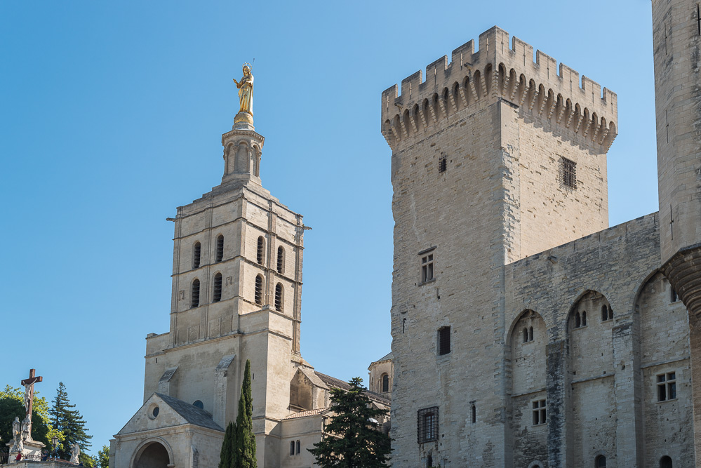 andysparkles-Arosa Flusskreuzfahrt-Provence-Avignon-Papstpalast