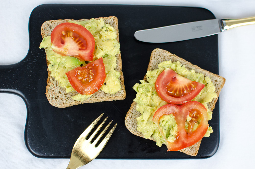 andysparkles-Gesundes Frühstück-Avocado Toast