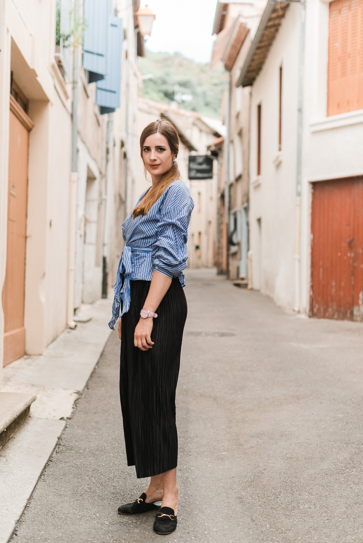 andysparkles-Modeblog Berlin-Culotte kombinieren-Wickelbluse