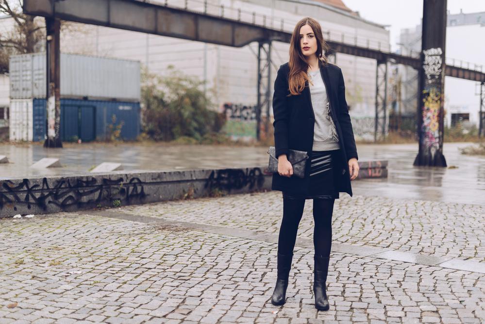 andysparkles-Modeblog Berlin-Vinyl alltagstauglich kombinieren-Vinylrock