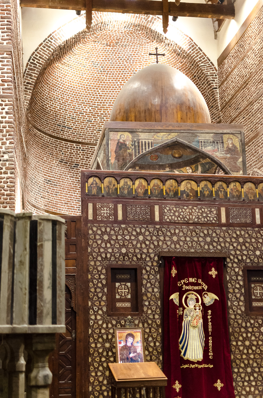 andysparkles-1 Tag in Kairo-Ägypten-Reiseblog-Koptisches Viertel