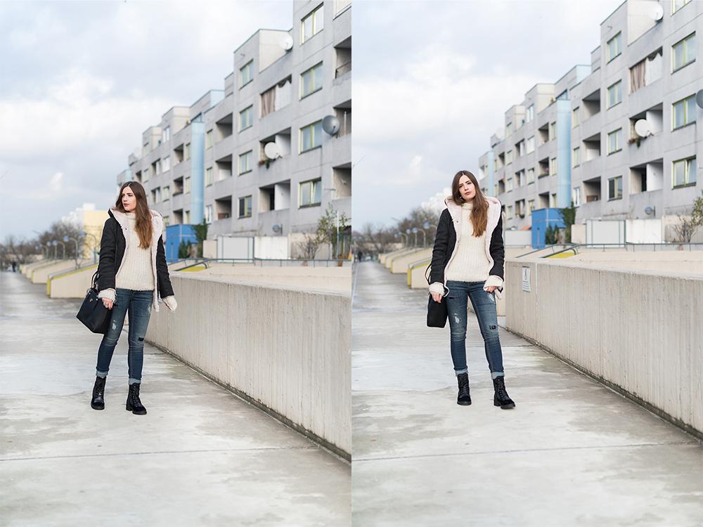 andysparkles-Modeblog Berlin-Grobstrickpullover Outfit