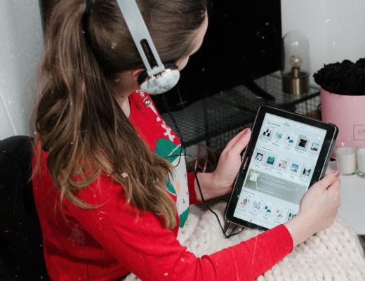 andysparkles-Last Minute Weihnachtsgeschenke-Hörbücher von BookBeat