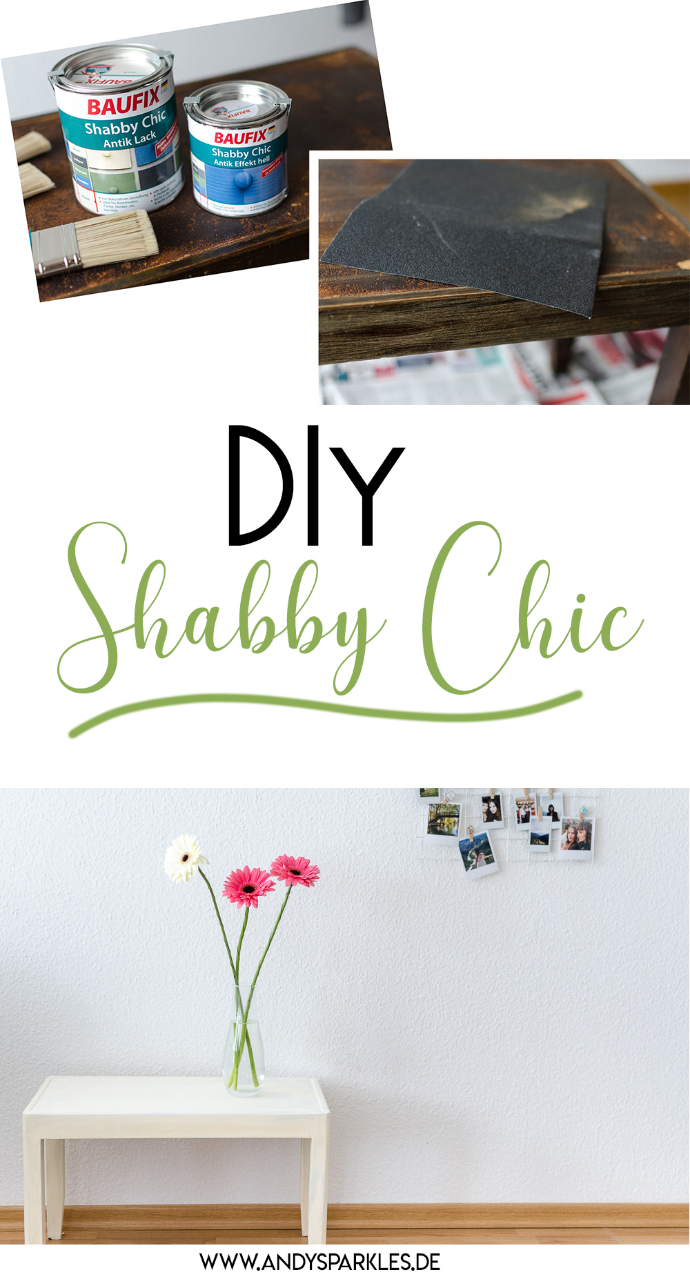 Shabby Chic DIY mit Baufix-Holzmöbel im Antik-Look-Upcycling-DIY Blog-andysparkles.de