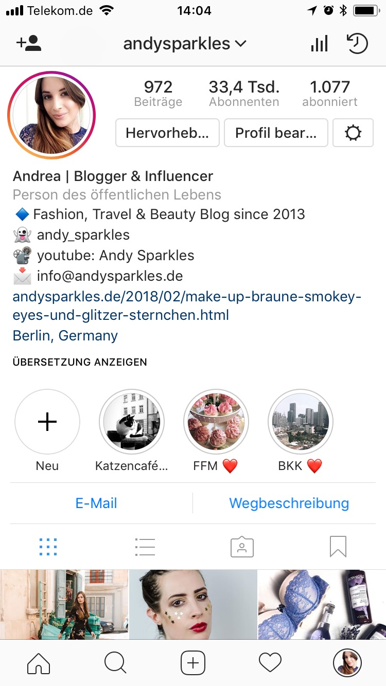 Instagram Type-Instagram Updates 2018-Blogger Tipps-andysparkles.de