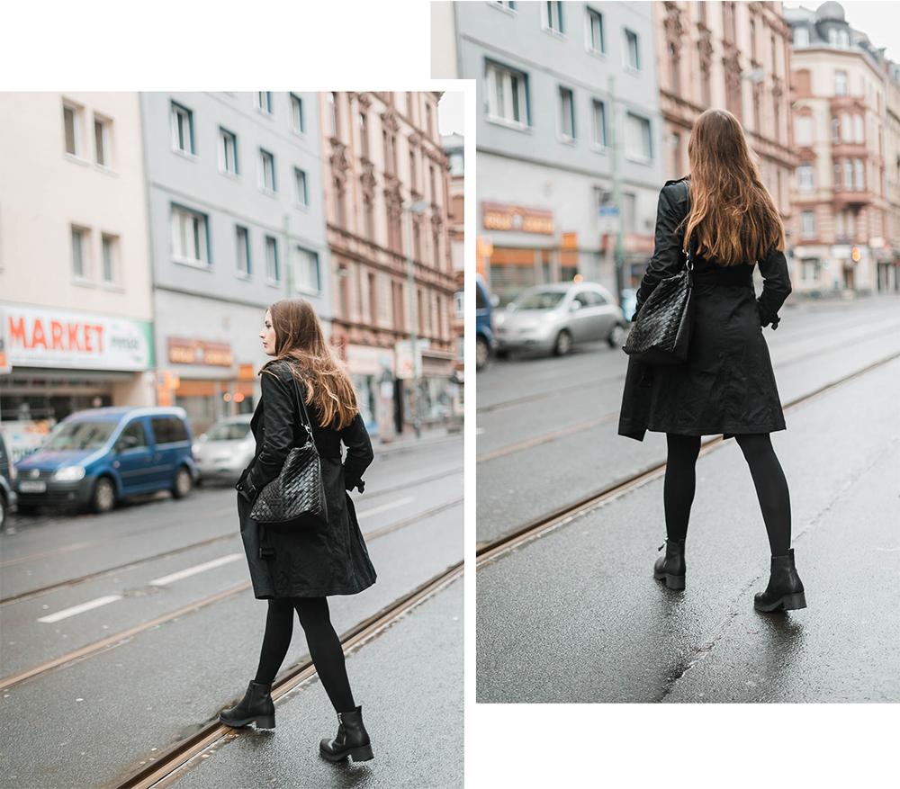 Outfit mit Trenchcoat-Frankfurt-Modeblog Winteroutfit-Deichmann Schuhe-andysparkles