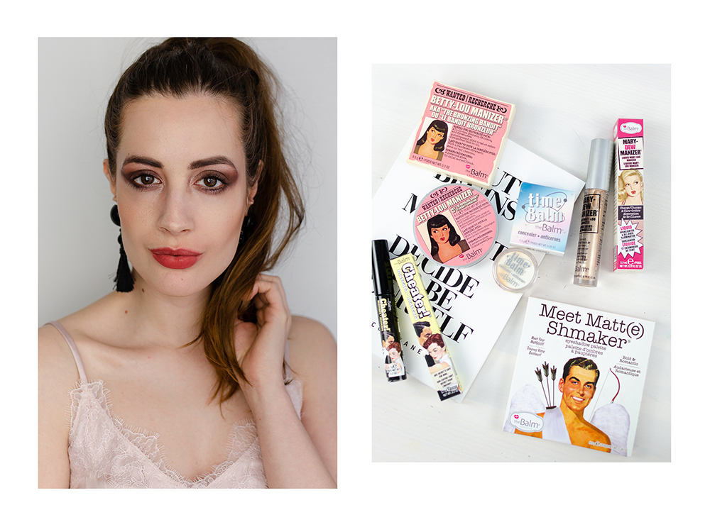 Cat Eyes schminken mit Eyeshadow-theBalm-Beautylook Tutorial-Cat Eyes schminken-Beautyblog-andysparkles