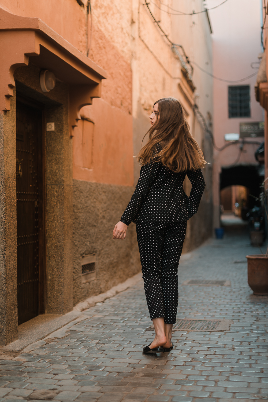 Polka Dots-Anzug-Street One-Modeblog Berlin-andysparkles