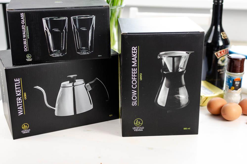 Baileys Kaffee Schnitten-Slow Coffee Maker-Leopold Vienna-Rezept Kaffee Kuchen-Foodblog-Kuchenrezept Kaffee-andysparkles