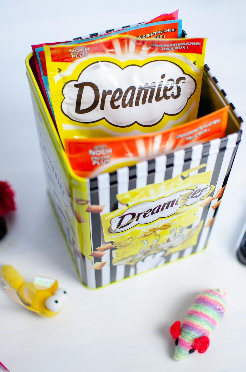 Dreamies Dose-Michael Michalsky Dreamies-Katzen Leckerlis-andysparkles