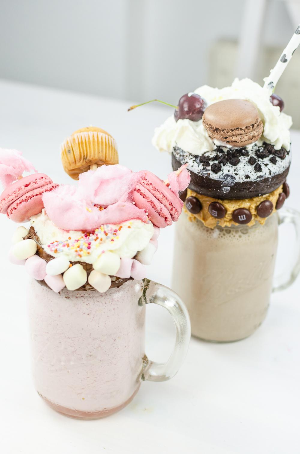 Rezept für Freakshakes-Monster Milchshakes-Rezept Milchshake-Foodblogger-andysparkles