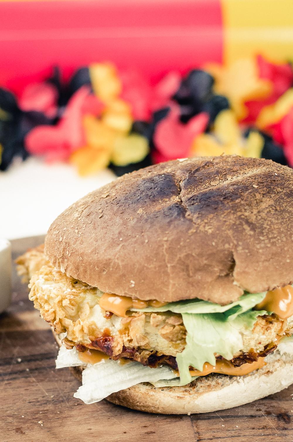 Veggie Blumenkohl Burger Rezept-THOMY Sauce-WM Burger Battle-Grill Rezept Burger-Veggie Burger Rezept-Foodblog-andysparkles