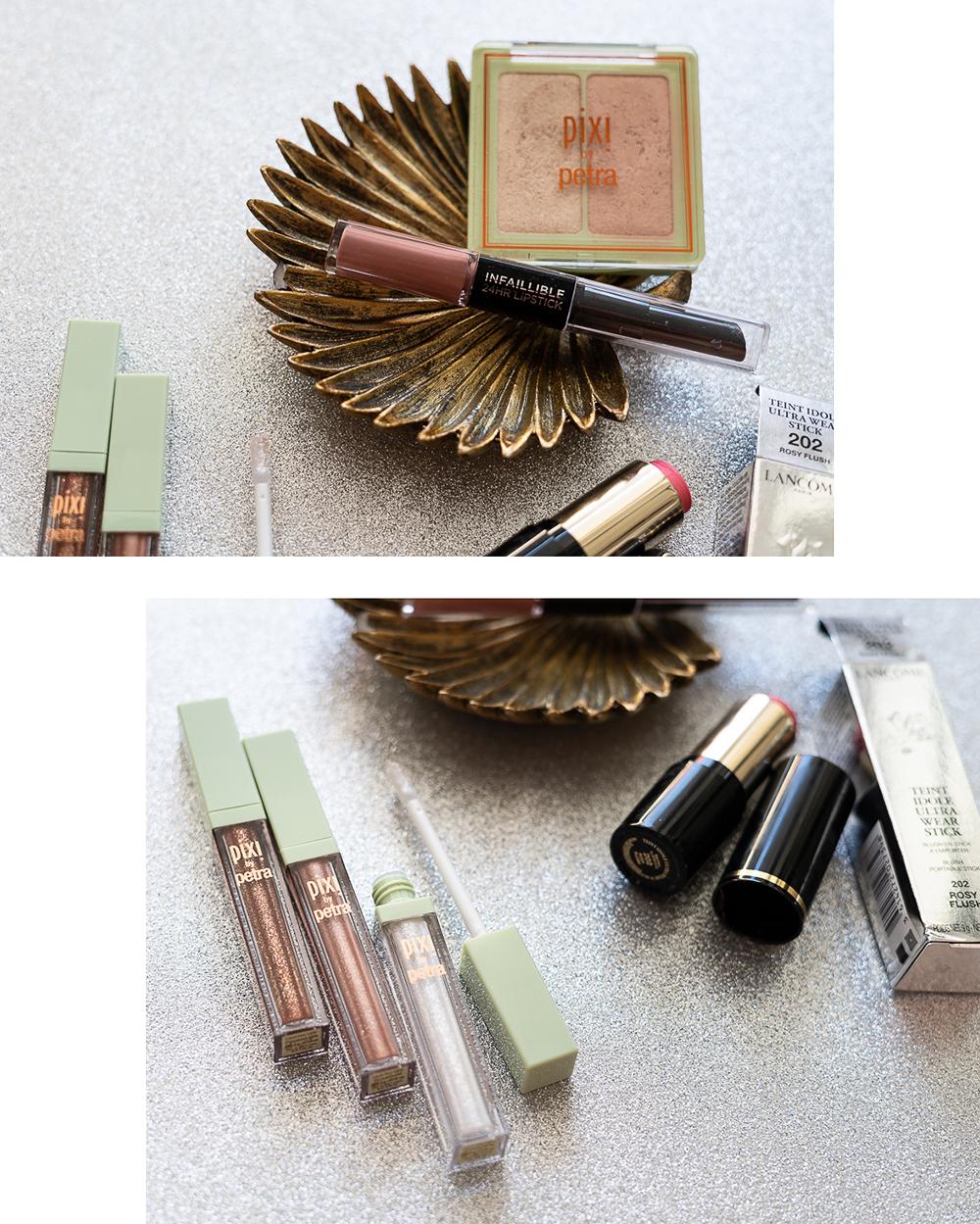 Pixi Liquid Fairy Lights-Glitzer Make-Up-Lancôme Blush Stick-Beautyblog-andysparkles