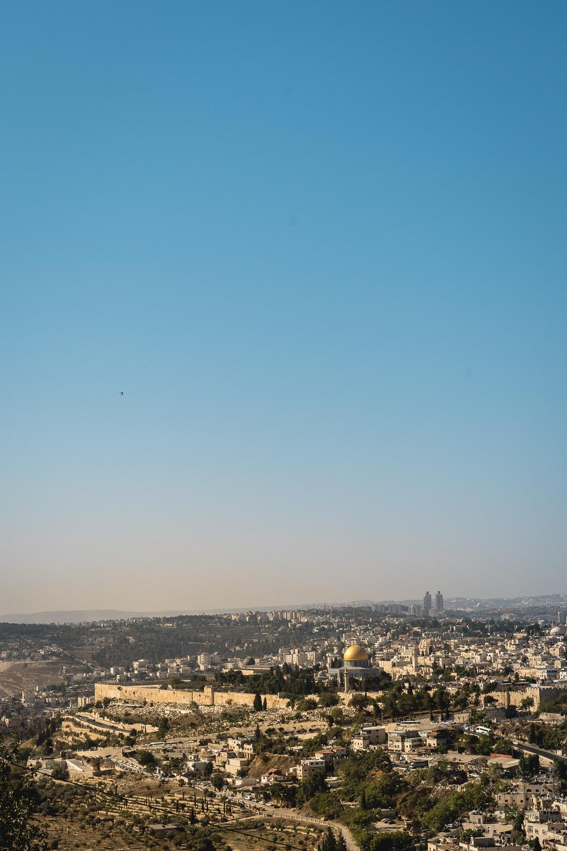 Tagesausflug nach Jerusalem-Jerusalem Altstadt-Aussicht Felsendom-Urlaub in Israel-Reiseblog-andysparkles
