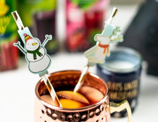 Kinderpunsch mit Aroniasaft - Rezept für Kinderpunsch - leckere Getränke für die Winterzeit - Glühwein ohne Alkohol - Foodblog - andysparkles