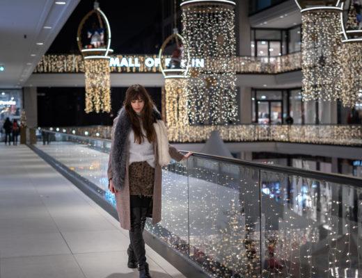Overknees mit Animal Print - mein Outfit für den Weihnachtsmarkt - Winteroutfit 2018 - Modeblog Berlin - Overknees kombinieren - andysparkles