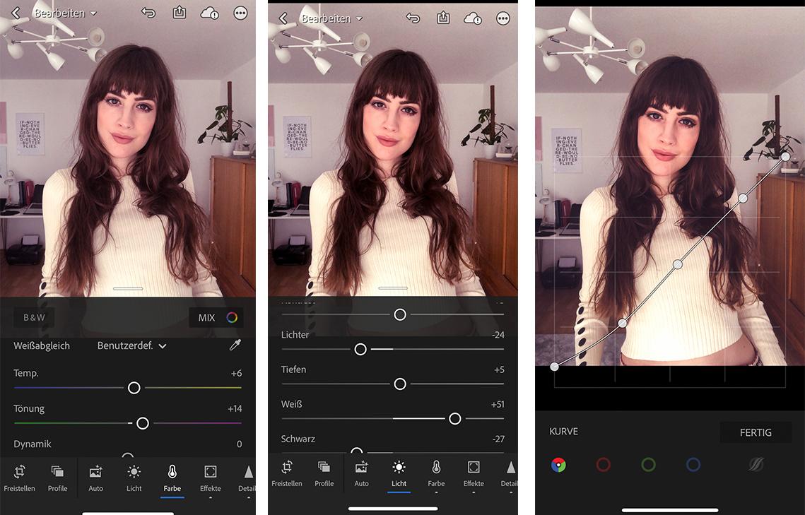 Bilder unterwegs per App bearbeiten - Lightroom