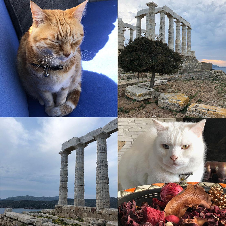 Sonne in Athen