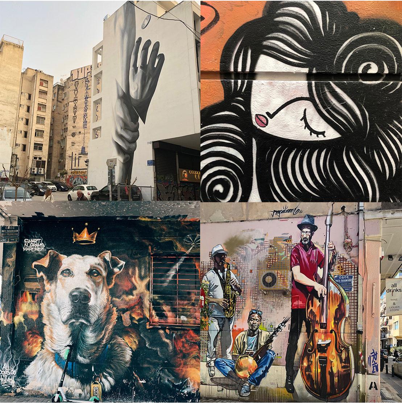 Streetart Athen