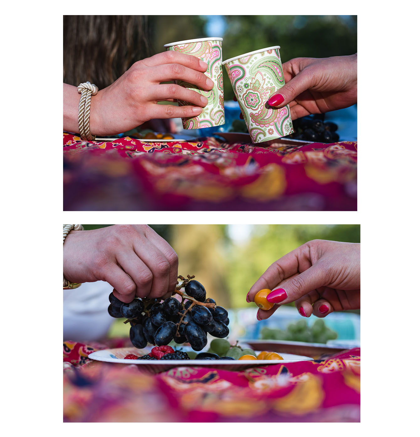Spontanes Picknick im Grünen