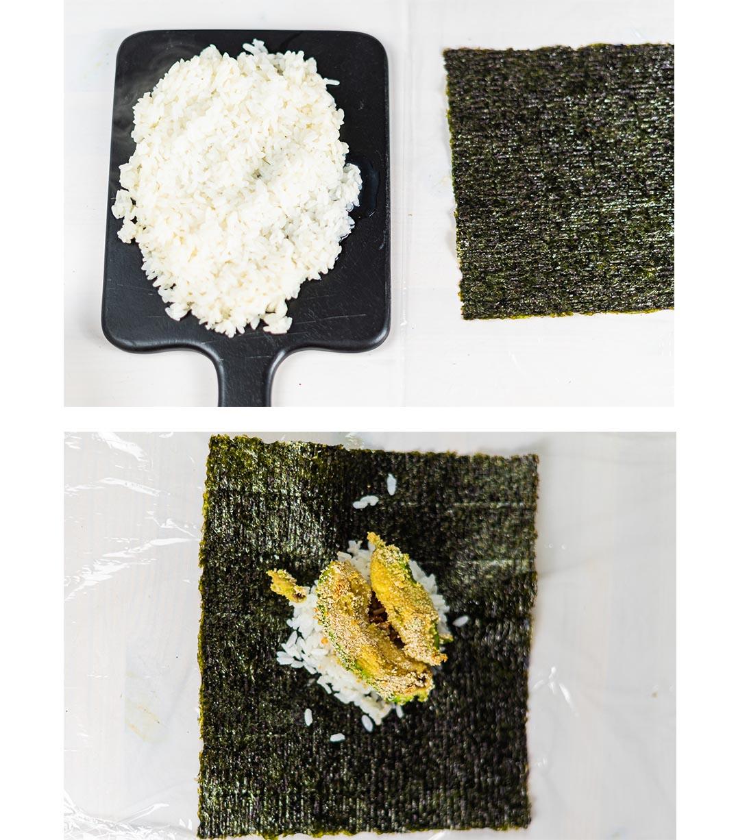 Zubereitung Onigirazu