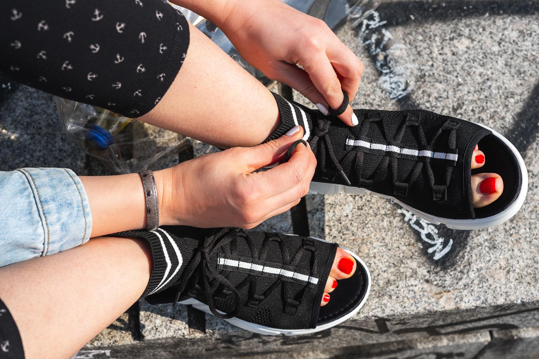 Sneaker Sandalen