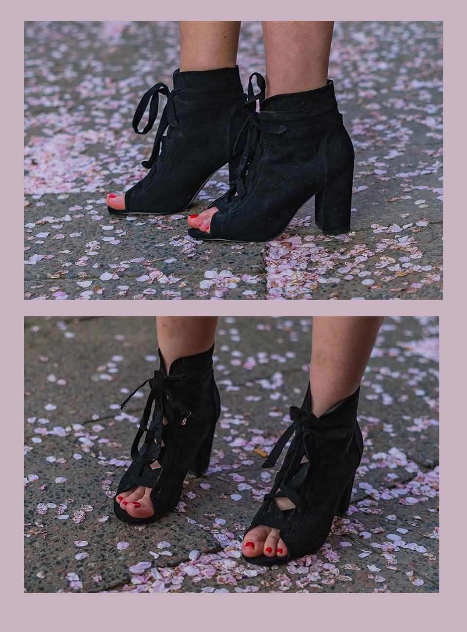 Schnür-Sandaletten