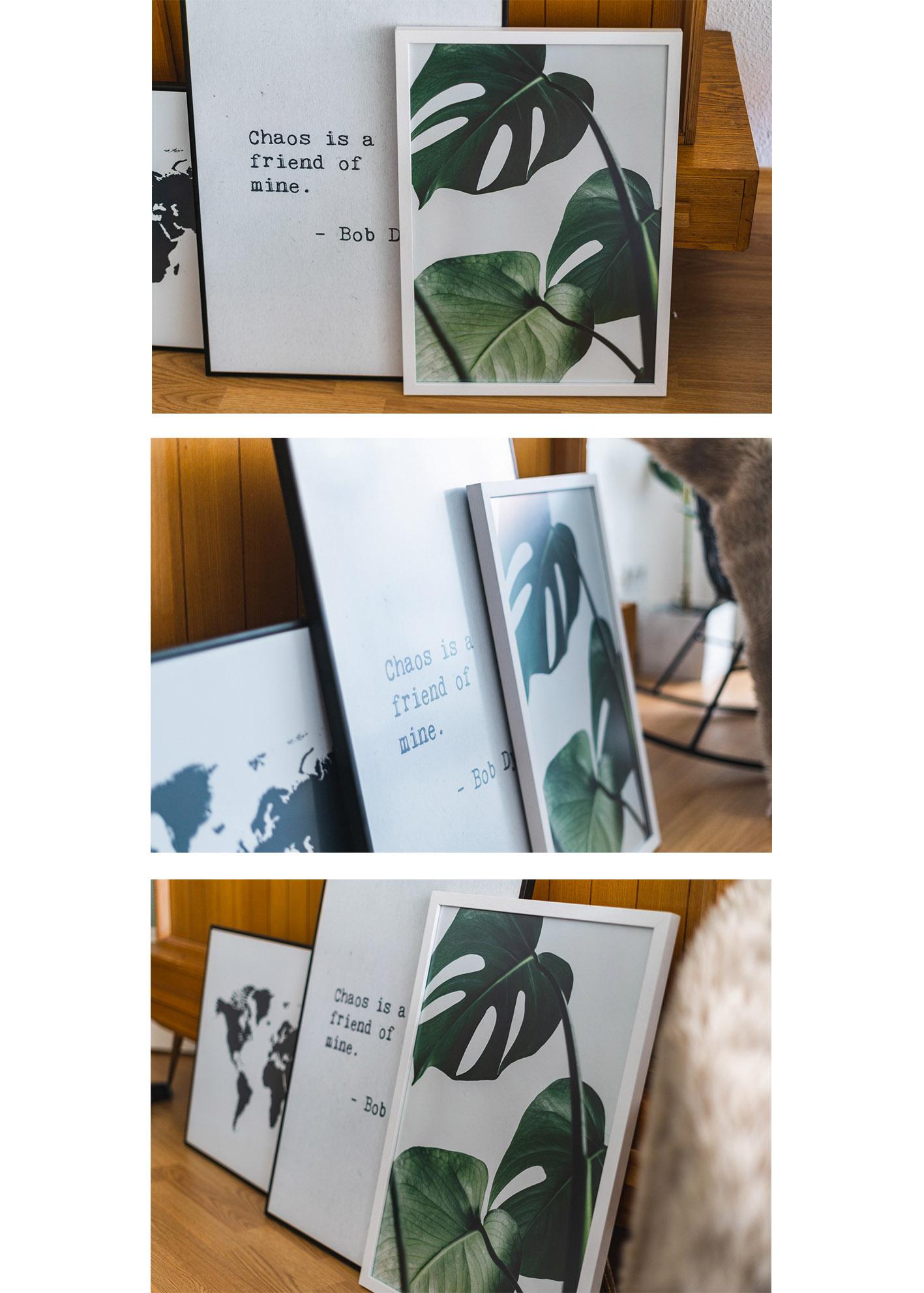 Gestalte deine Bilderwand mit Postern