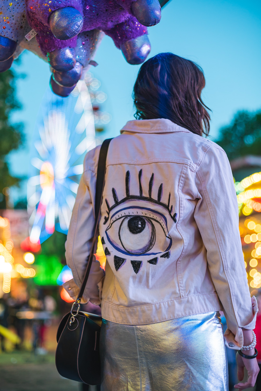 Jeansjacken-DIY zur Festival-Saison