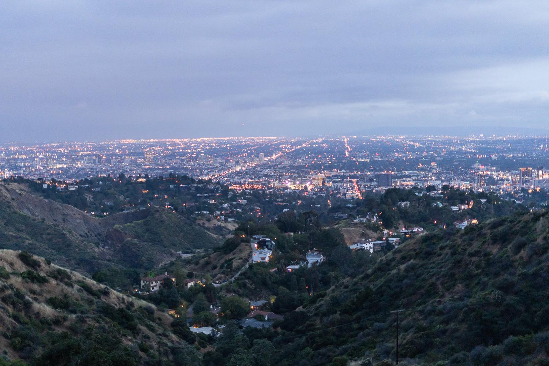 Aussicht über Los Angeles