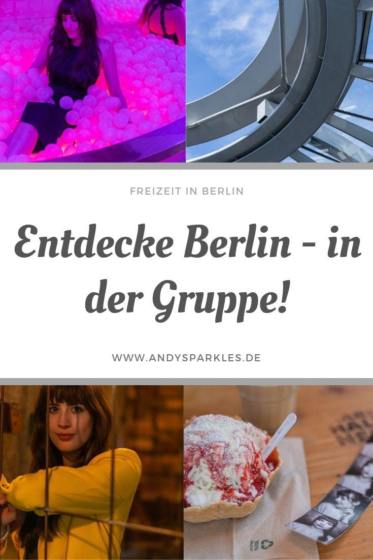 Entdecke Berlin in der Gruppe