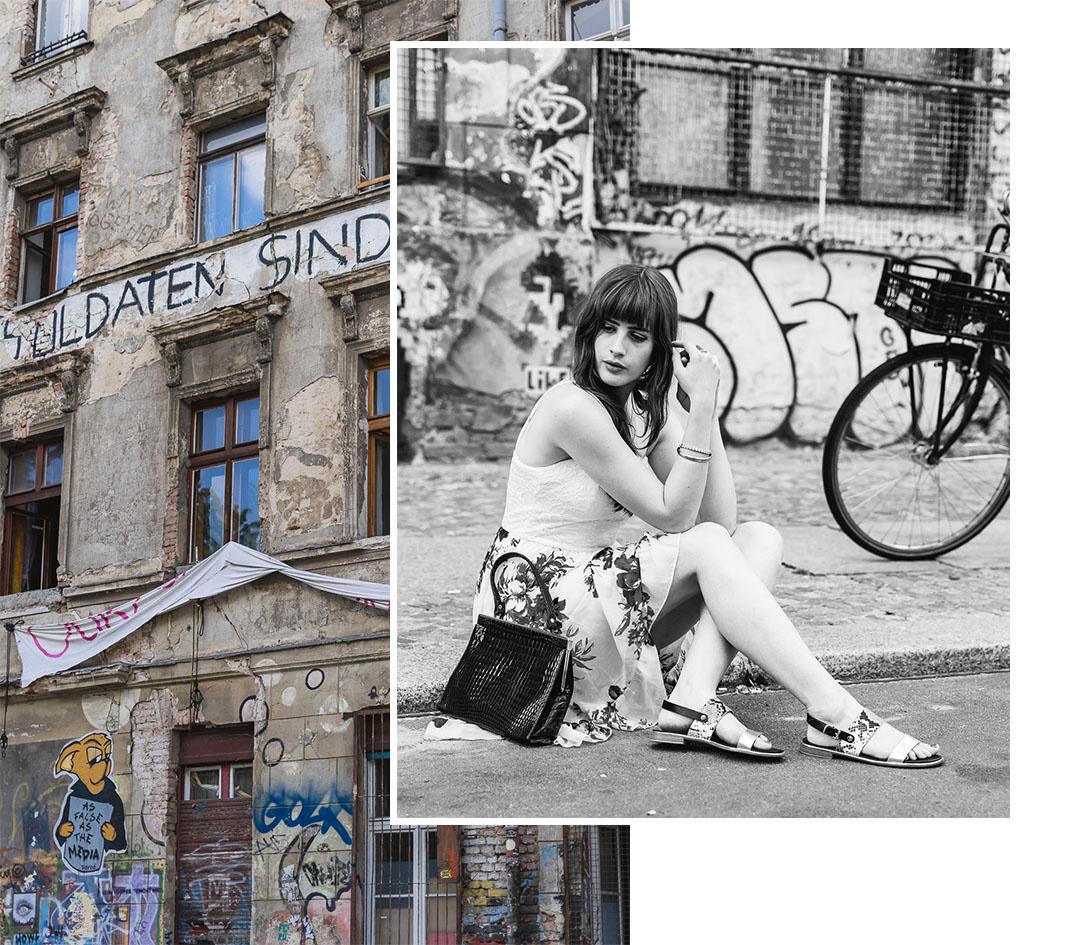 schwarzweiß Porträt in Berlin