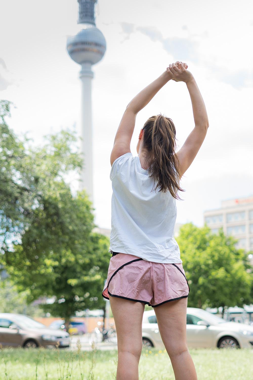 Sport machen trotz Hitze