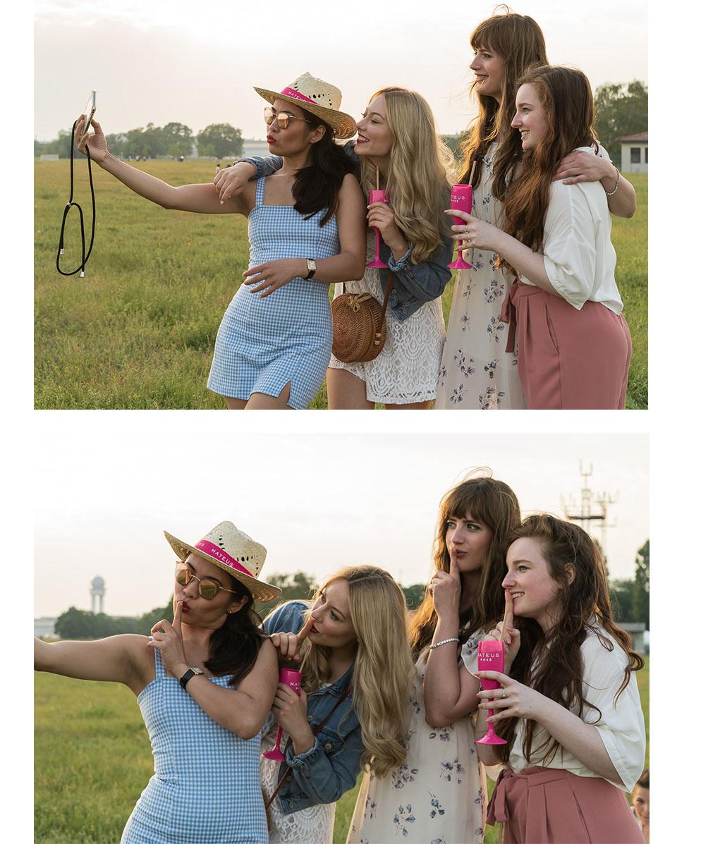 Selfie Time mit den Girls