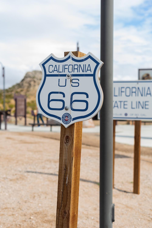 California Straßenzeichen