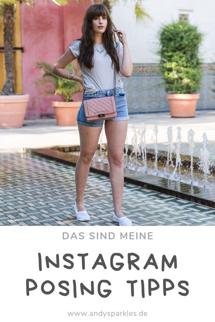 Instagram Posing Tipps