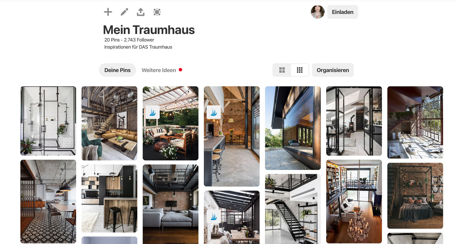Traumhaus Inspiration Pinterest