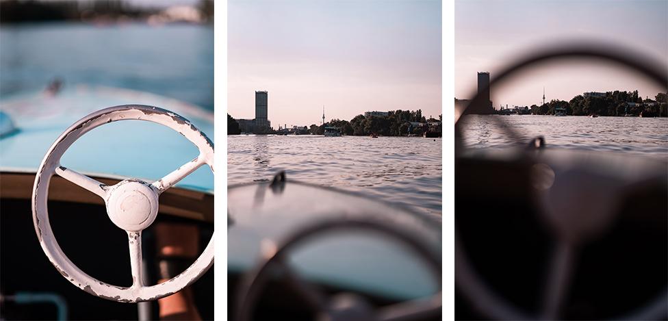 Oldtimer-Tretboote Berlin