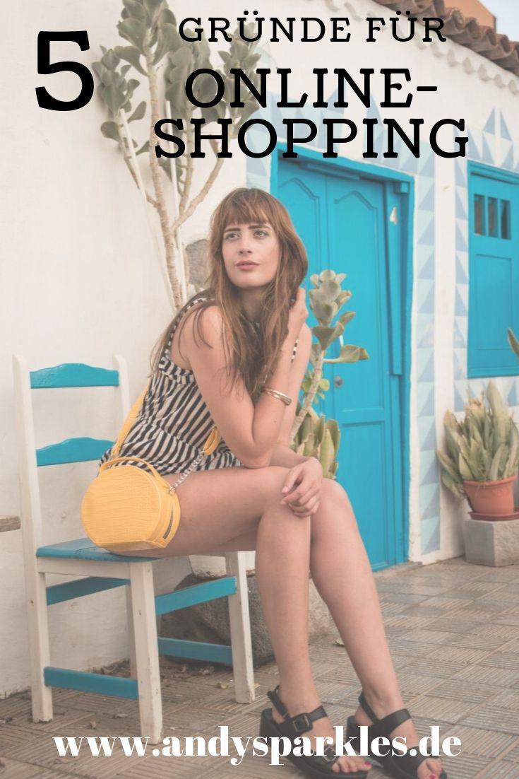 5 Gründe für Online Shopping