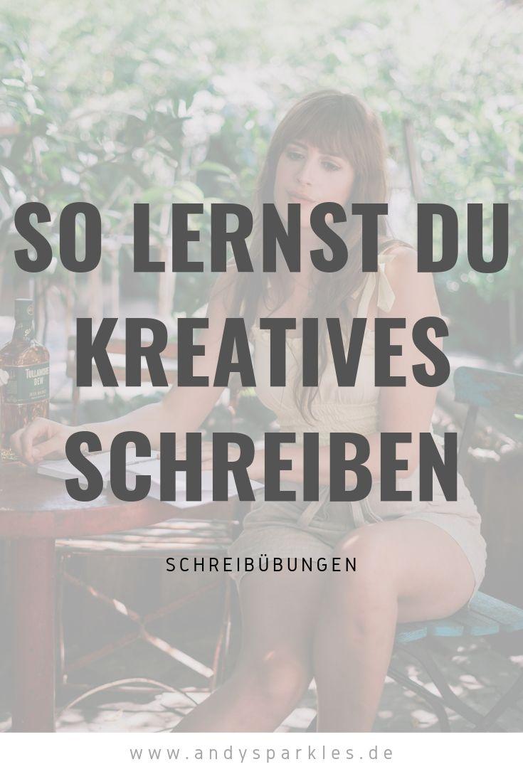 So lernst du kreativ zu schreiben