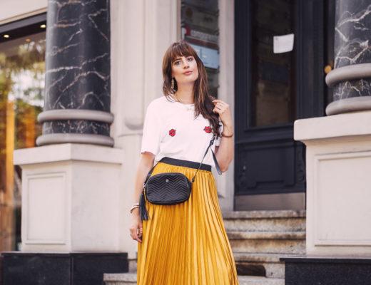 Modeblog Outfit Midirock