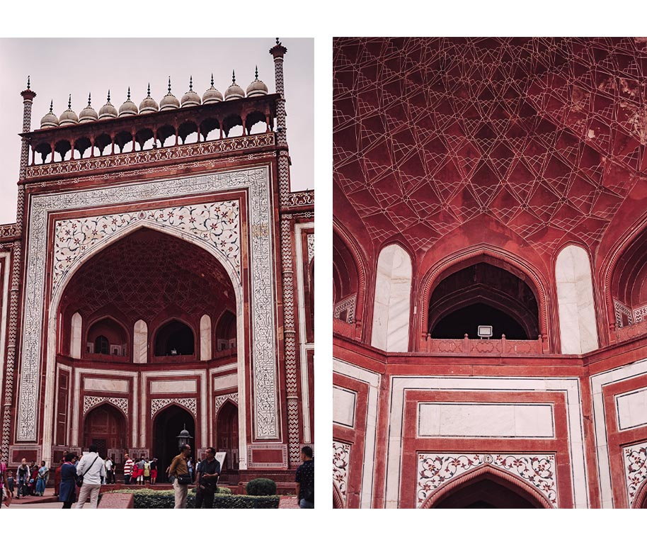 Eingang Taj Mahal