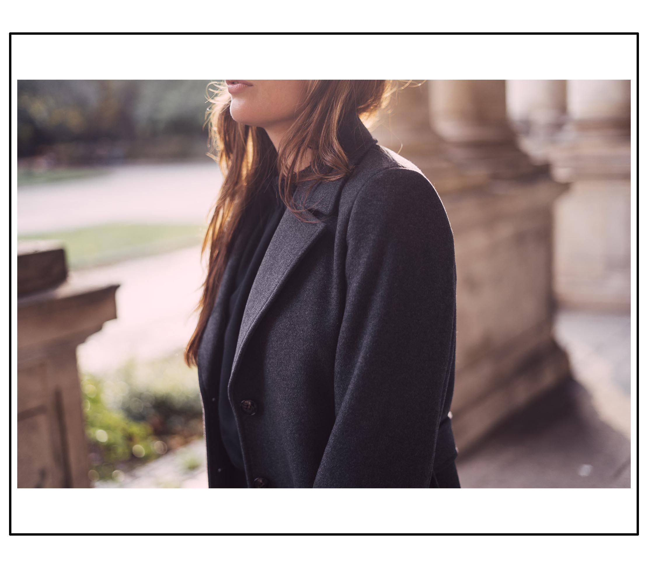 Der perfekte Mantel für den Herbst