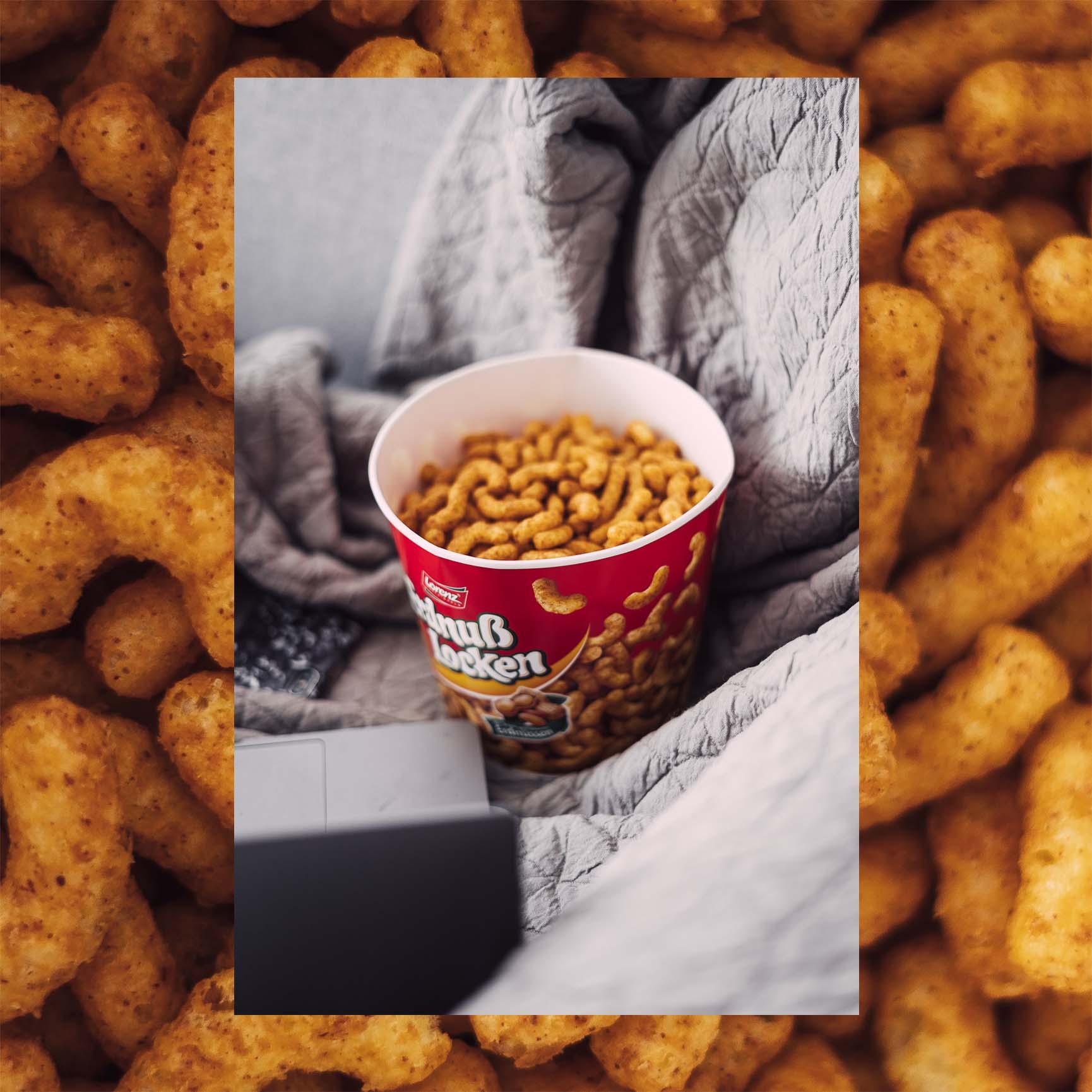 Erdnußlocken