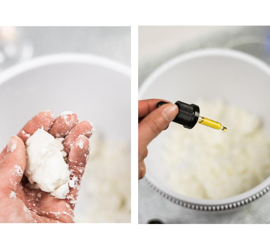 Badebomben DIY mit CBD-Öl